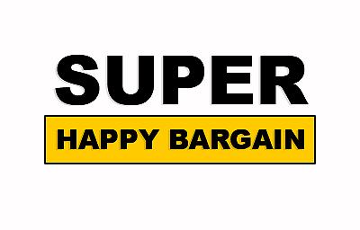 Super happy bargains Logo