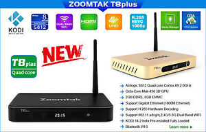 Zoomtak T8 Plus - Android TV Box - Free TV