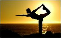 Someone to practice Yoga with :-)