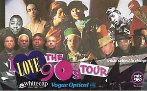 I LOVE THE 90'S TOUR