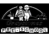 Preschool Manager of Greystones Preschool