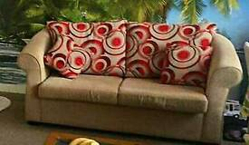 2 seater and 2 seater sofa bed