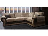 Stylish Scs Ashley corner sofa with free # Footstool