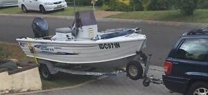 Quintrex Wide  Body Dory Custom Mount Annan Camden Area Preview