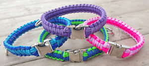 Handmade Paracord Dog Collars and Leashes