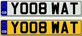 YOU ATE WHAT a very rare private number plate for sale