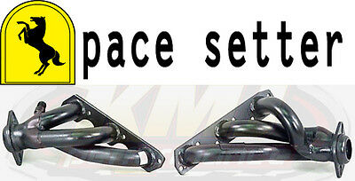 Kyпить Pace Setter 70-1077 Painted Steel Shorty Headers 2001-2004 Mustang 3.8L V6 w EGR на еВаy.соm