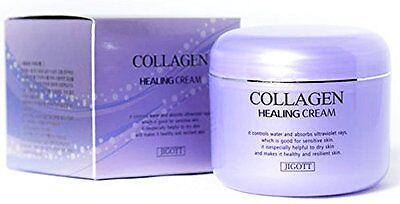 JIGOTT Collagen Healing Cream 100g Moisture Whitening Wrinkle Skin Care