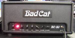 Amplificateur guitare, Tête Bad Cat BC50 (marshall Plexi)