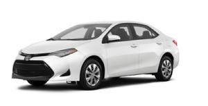 Auto Toyota 2017 neuve