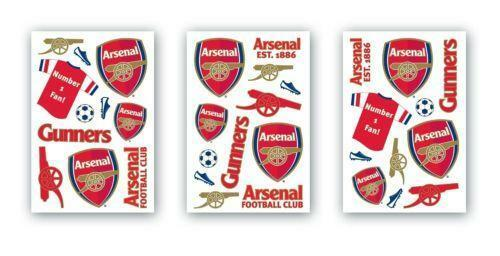 Arsenal Wall Stickers Ebay