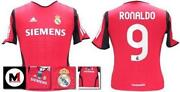 Real Madrid Red Shirt