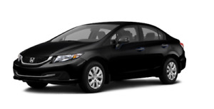 Honda civic DX 2015 manuelle