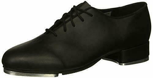 Leo Oxford Tap Shoe LS3312L Tap Shoes, Ladies Black NEW IN BOX