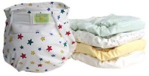 11 Kushies Cloth reusable diapers size 10-22 lbs good condition