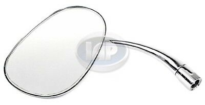 VW Bug LEFT Door Mirror PEAR SHAPED 113857513AT Type 1 1949-1967 - Shaped Mirrors