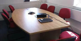 Large office meeting board table boardroom (TABLE ONLY )