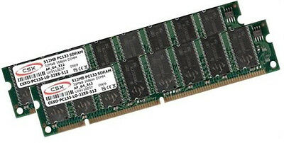 2x 512MB 1GB PC133 SDRAM RAM Speicher Apple PowerMac G4 ()