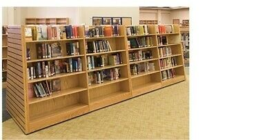 Borders Retail Store Wood Book Shelves Book Case Bookshelf Bookcase Shelving