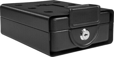 Barska Compact Safe Key Lock Safe w/ Mounting Sleeve AX11812