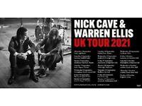 4 Nick Cave & Warren Ellis Tickets - Royal Albert Hall - Thurs 7th Oct