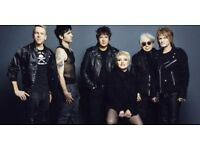 2 x BLONDIE TICKETS SSE HYDRO 14 NOV £35 EACH / Block 236 Row R Seats 358/359 Meet Central Glasgow.