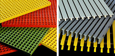 Fiberglass Frp Molded Grating Full Sheets - See Description For Instructions