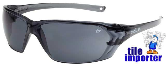 Brand New Genuine BOLLE` Safety Glasses - Prism Smoke