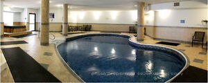 2 BED, 2 BATH with POOL, sauna, hot tub and exercise room