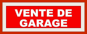 VENTE DE GARAGE / SALE OTTERBURN PARK 21 et 22 mai