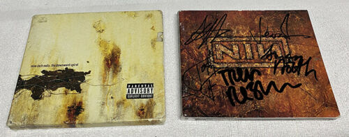 Nine Inch Nails The Downward Spiral Signed CD Autographed Trent Reznor