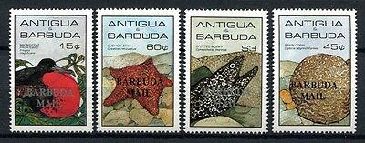 Barbuda 1985 Meerestiere Sea Life Bird Vogel Seestern 839-842 Postfrisch MNH