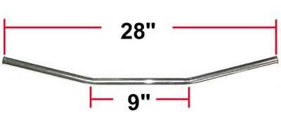 Chrome Drag Style Bar Handlebar 7/8 Yamaha RD400 RD350 RD250 XS1 XS2 XS650 TX500