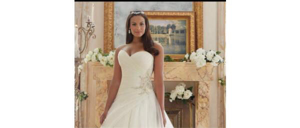 Morilee Ivory Wedding Dress Brand New Never Worn