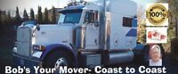 Bob's Your Mover is BOOKING NOW- Coast to Coast