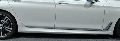 BMW OEM G11 7 Series Standard Wheelbase 2016+ Chrome Door Side Strips Set Of 6