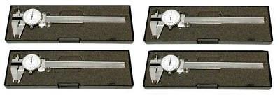 Special 4pc 150mm Metric Dial Stainlees Steel Caliper