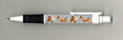 Lakeland Terrier Dog Design Retractable Acrylic Ball Pen by paws2print