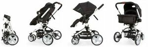 First years wave stroller with bassinet