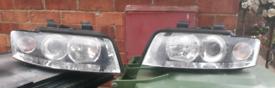 Audi A4 B6 Headlights