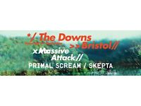 2x tickets for Massive Attack on The Downs Saturday 3rd September