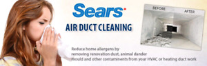Sears Duct cleaning Offering Black Friday Promotion