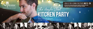 2 tickets, Kitchen Party at Neptune Theater, valid up to July 29