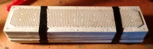 24 each - 16x4 inch plastic soffit vents - NEW