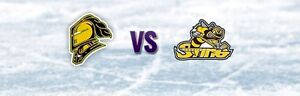 London Knights vs Sarnia Sting, Saturday, Oct 29th: 2 Lower Bowl