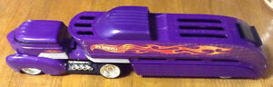 PURPLE HOT WHEELS 2002 STORAGE HAULER TRANSPORT TRUCK 1412DP Gatineau Ottawa / Gatineau Area image 2