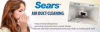 SEARS DUCT CLEANING: BOOK NOW AND SAVE UP TO $150.00!