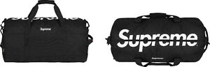 Brand New Supreme 2017 Backpack and Duffle (Black) with Tags