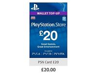£20 Play Station Wallet Top-Up