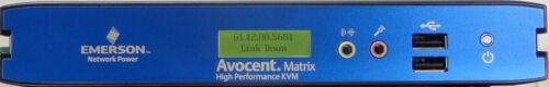 Emerson Avocent Matrix High Performance KVM MXR5110 Receiver 510-164-501